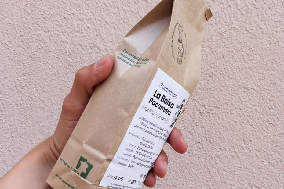 Sachets 100% recyclables
